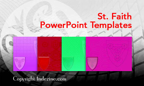 St. Faith Christian PowerPoint Templates