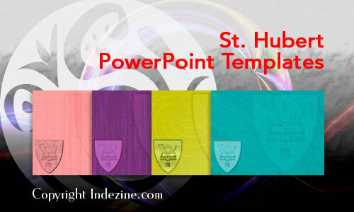 St. Hubert Christian PowerPoint Templates