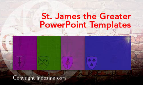 St. James the Greater PowerPoint Templates