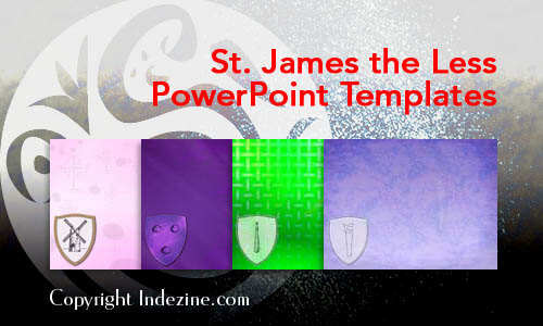 St. James the Less PowerPoint Templates