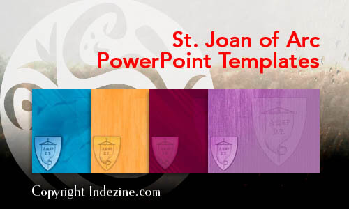 St. Joan of Arc PowerPoint Templates