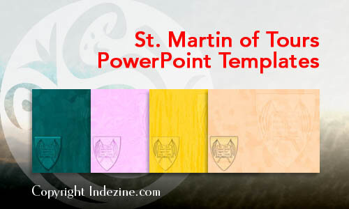 St. Martin of Tours Christian PowerPoint Templates