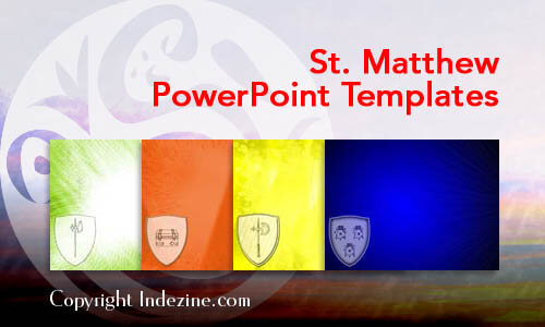 St. Matthew Christian PowerPoint Templates