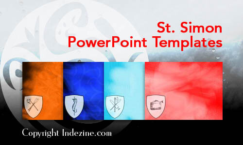 St. Simon PowerPoint Templates
