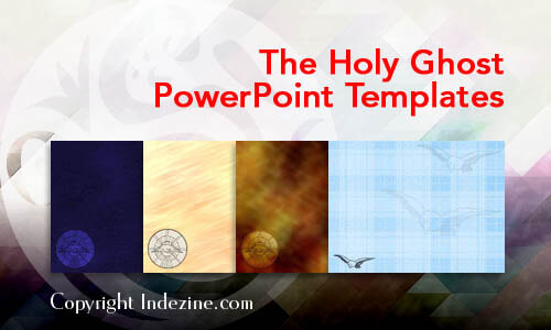 The Holy Ghost Christian PowerPoint Templates