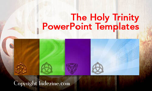 the holy trinity christian powerpoint templates