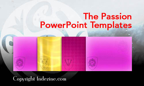 The Passion PowerPoint Templates
