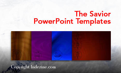The Savior Christian PowerPoint Templates