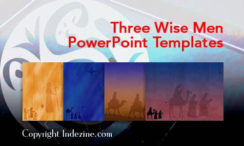 Three Wise Men PowerPoint Templates