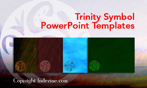 Trinity Symbol Christian PowerPoint Templates
