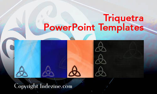 Triquetra Christian PowerPoint Templates