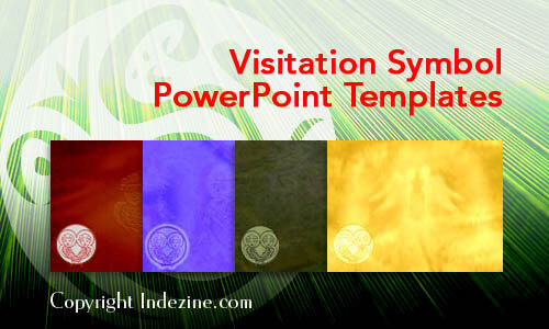 Visitation Symbol PowerPoint Templates