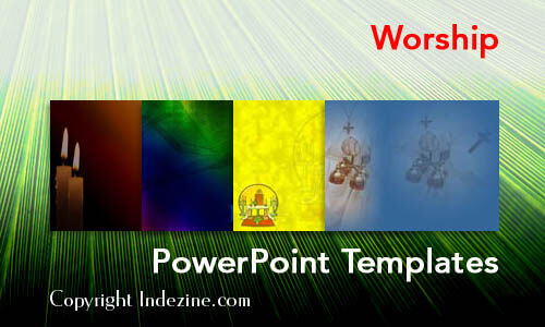 Worship Christian PowerPoint Templates