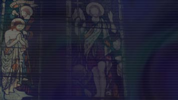 Stained Glass Christian PowerPoint Templates