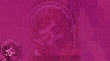St. Valentine Christian PowerPoint Templates